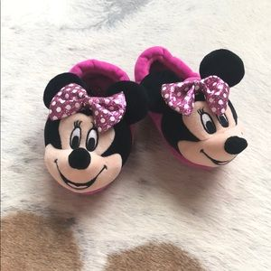 Miney mouse house slipper shoes